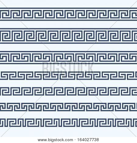 Greek pattern border - grecian ornament lines