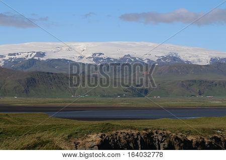 Vatnajokull Glacier in Skaftafell National Park. Iceland