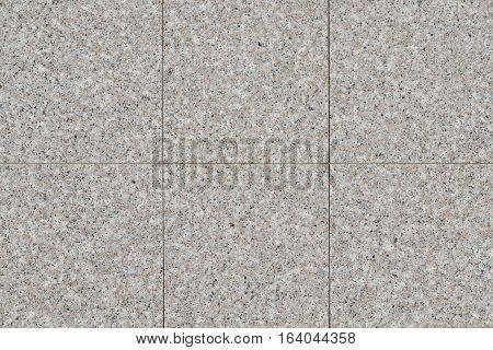 Grey brick stone street road. Light sidewalk pavement texture