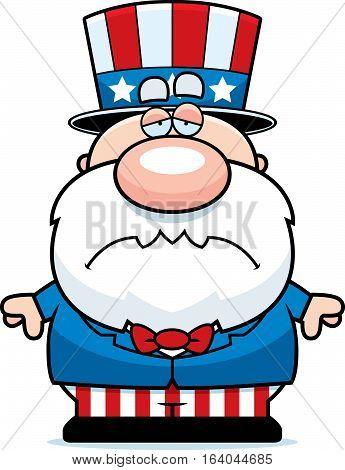 Sad Cartoon Patriot