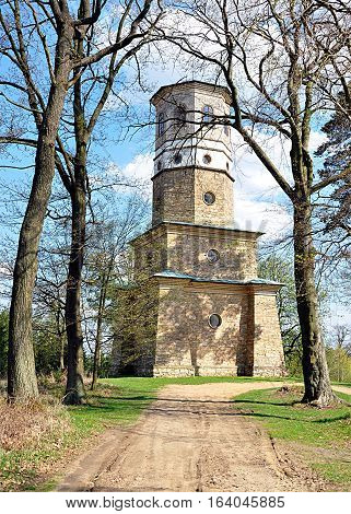 historic tourist Tower of Babylon, Moravia, Czech Republic, Europe