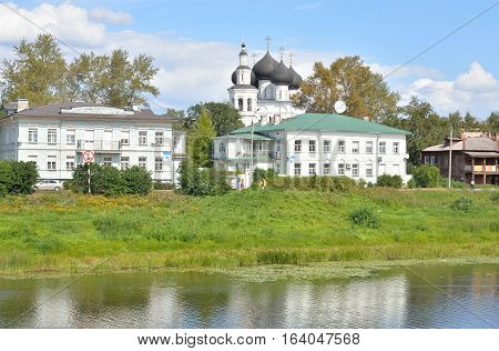 Church of St. Nicholas in Vladychnaya Sloboda in Vologda Russia.