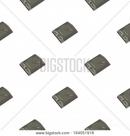 Drawing tablet with stylus icon in pattern style isolated on white background. Artist and drawing symbol vector illustration.