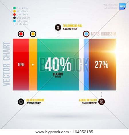 Infographics Chart Template. Useful For Presentations And Advertising.
