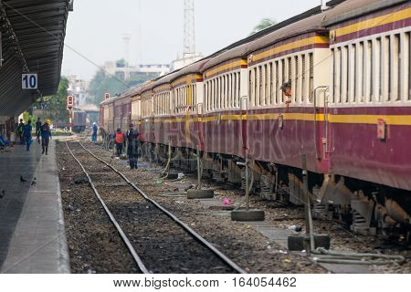 Thai Railway Train