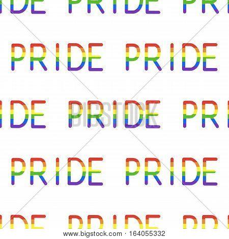 Pride Word Pattern