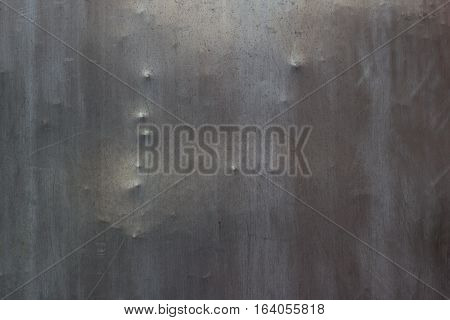 texture of metal sheet with scratches and irregularities