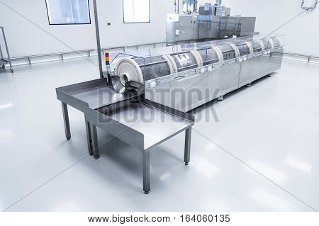 Precision Machine Tool At The Plant