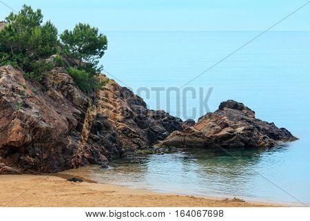Summer La Fosca Beach, Palamos, Spain.