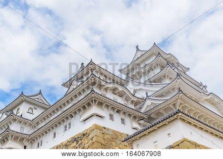 Himeji Castle Or White Egret Castle
