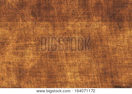 Rusty ecru beige textile fabric material grungy surface background
