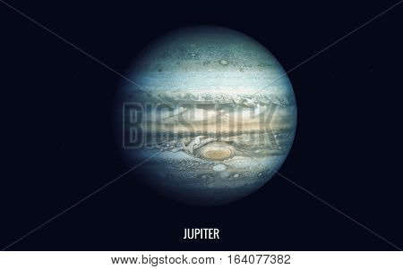 Jupiter. Elements of this image furnished by NASA