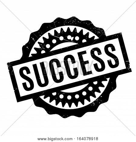 Success rubber stamp. Grunge design with dust scratches. Effects can be easily removed for a clean, crisp look. Color is easily changed.