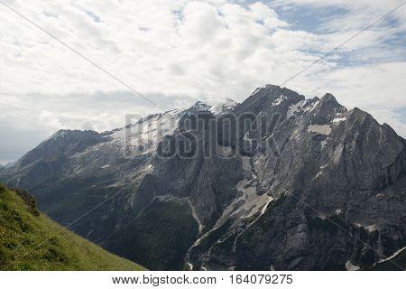Marmolada from Belvedere - Dolomiti - Alps - Trentino - Italy
