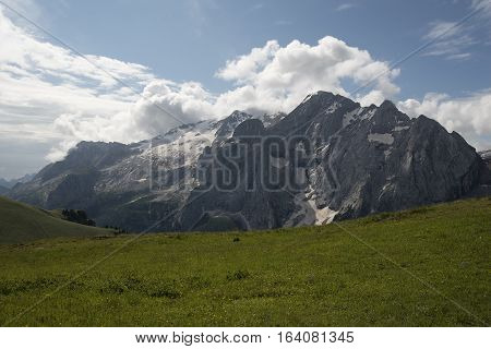 Marmolada from Belvedere - Dolomiti - Trentino - Italy