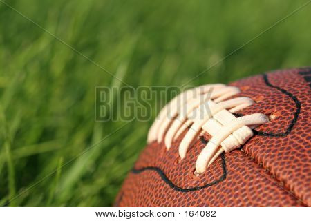 Football In The Grass
