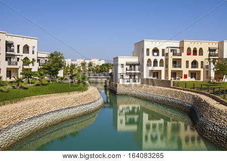 Sultanate of Oman - January 07,2016 : Hotel Salalah Rotana Resort in Dhofar, Oman