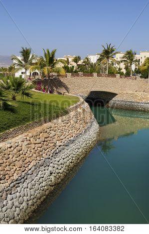 Sultanate of Oman - January 07,2016 : Hotel Salalah Rotana Resort in Dhofar, Oman.