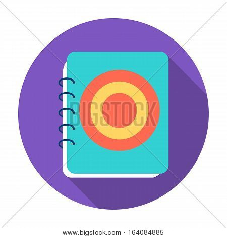 Menu of pub icon in flat design isolated on white background. Pub symbol stock vector illustration.