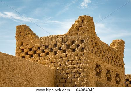 Typical Berber Architectural Elements In Merzouga