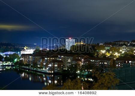City view by night
