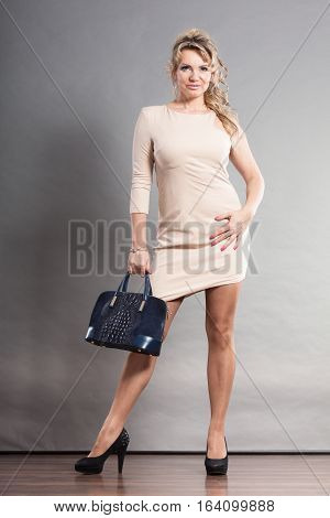 Coquette Woman With High Heels.
