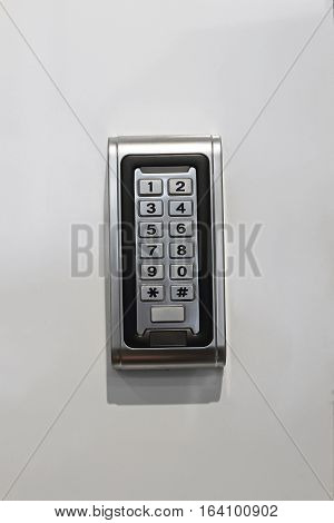 Numeric Pad For Smart Electronic Lock at Wall