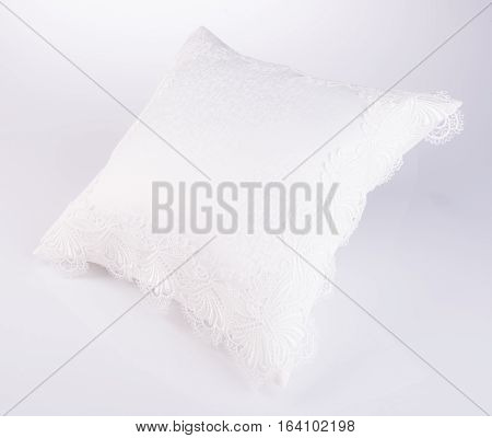 Pillows Or Comfortable Pillows On A Background.