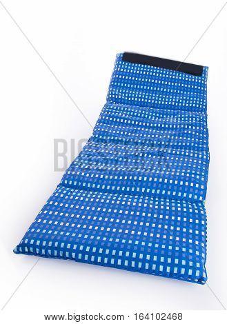 Mattress Or Crib Sheet Mattress On Background.