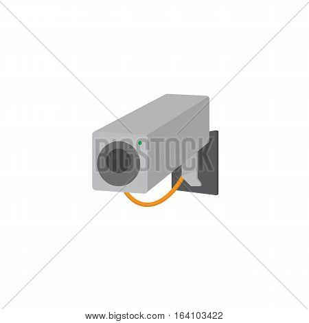 Surveillance Camera Vector, Security Camera CCTV Illustration