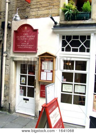 The Oldest House In Bath