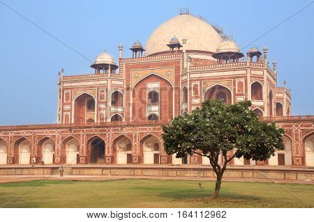 Humayun's Tomb Delhi India. It was the first garden-tomb on the Indian subcontinent.