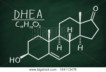 Structural Model Of Dhea