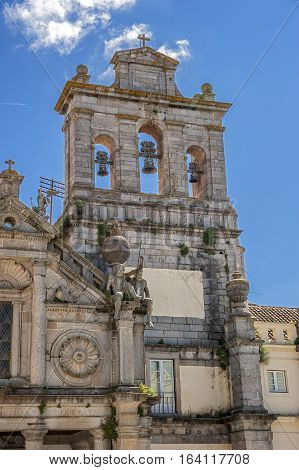 Portugal Evora . Monastery and Church of Our Lady of Mercy Grasse built in the style of