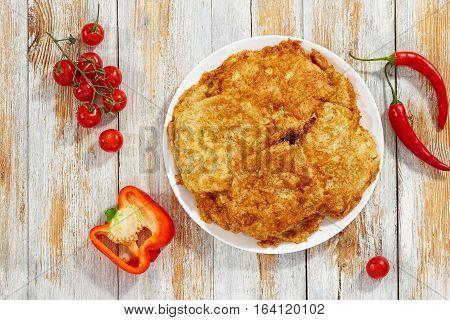 Delicious Pan Fried In Batter Boneless Meat Chops