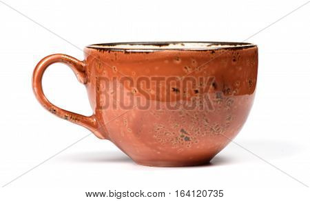 Cup On White Background