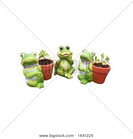 Frog Patio Ornaments
