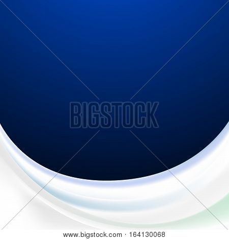 Vector abstract wave background illustration icon moder water