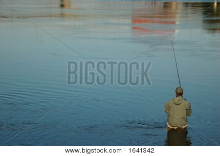 Fisherman And Water