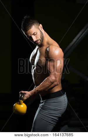 Weight Exercise With Kettle-bell