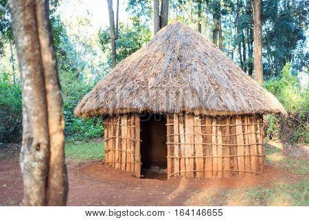 Traditional, Tribal House Of Kenyan People