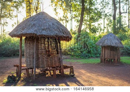 Traditional Granary Of Kenyan People