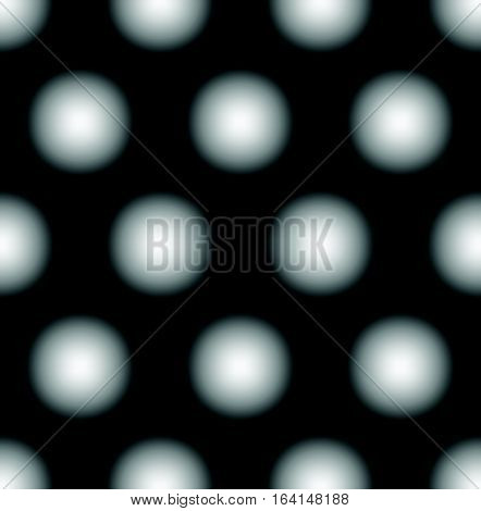 Seamless Pattern With Faded Circles - Dotted, Polkadot Pattern, Background