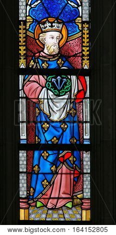 Stained Glass - Saint Louis Of France