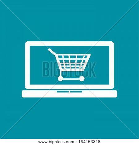 E-commerce symbol. Add to cart icon. Cart icon/