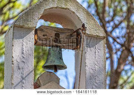St. Roko church bell in old village Tucepi in Dalmatia.
