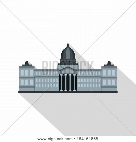 National Congress Building, Argentina icon. Flat illustration of National Congress Building, Argentina vector icon for web isolated on white background