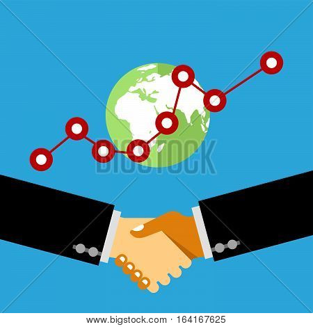 Hand shake Business deal Business people shaking hands
