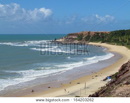 pipa beach near the Natal-RN city Brazil