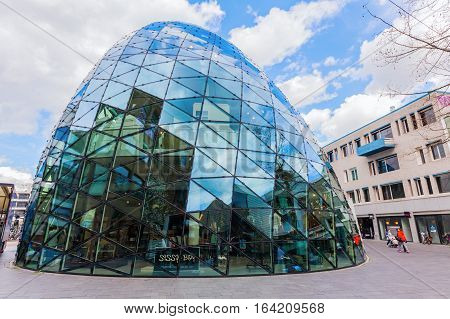 Modern Architecture In The City Of Eindhoven, Netherlands